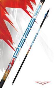 "New Black Eagle PS26 Dan McCarthy Premium Arrow Shafts 250 Spine (.001"") 1 Dozen"
