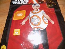 Toddler Size 2-3T Rubie's Disney Star Wars BB8 Halloween Costume New