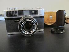 Minolta AL 35mm film camera ROKKOR-PF1:2 F=45mm Lens As-Is