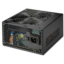 EZCOOL 650W PSU BLACK ATX PC POWER SUPPLY 24 PIN / MOLEX / SATA 12CM FAN