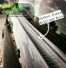 Mini R56 Carbon Fiber De-Chrome Premium Beltline Kit Belt line Cooper S JCW.