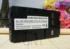 Battery for Panasonic PV-BP15 PV-BP17 PV-BP18 PV-L452 PV-L453D PV-L657 L759 L558