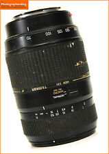 Tamron 70-300mm F4-5.6 Di LD Macro AF Zoom.Minolta Sony  A Mount +  Free UK Post