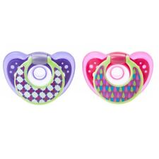 The First Years GumDrop Infant Pacifier - 6-18 months - Pink / Purple