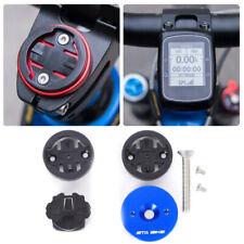 Aleación de Aluminio Bicicletas Tallo Extensión Soporte Rojo for Garmin Edge GPS