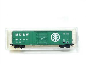 N Micro-Train MTL Kadee 27150 MD&W Minnesota Dakota Western 50' Boxcar #9065