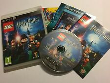 PLAYSTATION 3 GAME LEGO LEGO HARRY POTTER YEARS 1-4 +BOXED INSTRUCTIONS COMPLETE