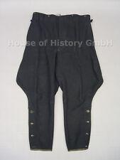 Schwarze Stiefelhose, Breecheshose, schwarzer dickerer Stoff, div. Verbände, 977