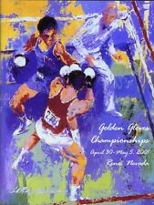 2001 Golden Gloves Boxing Championship LeRoy Neiman Program