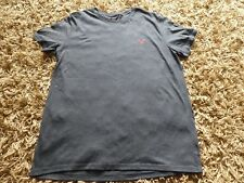 Designer Classic American Eagle Short Sleeve V-Neck Grey Muscle T-shirt XL Mens