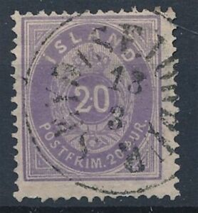[59259] Iceland 1876 Very good Used Very Fine stamp