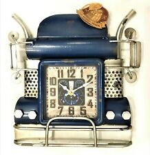 """Wall Clock - The Hard-Working Diesel of Years Ago - 11.4"""" x 12.2"""" x 2.7"""""""