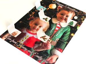 Personalised Advent Calendar Christmas - Your Own Photo and Message!