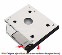 2nd HD Hard Drive HDD SSD Caddy for Dell Inspiron 2600 2650 1100 1150 5100 5160