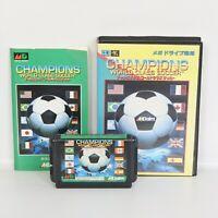 CHAMPIONS WORLD CLASS SOCCER Mega Drive Sega 0338 md