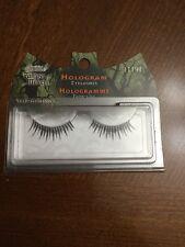 Fantasy Makers Wet N Wild Hologram Black Silver False Eyelashes Halloween Costum