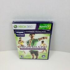 Your Shape Fitness Evolved 2012 Microsoft Xbox 360 New Sealed