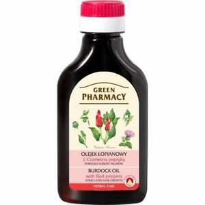 GREEN PHARMACY Burdock Oil with Red Peppers 100ml