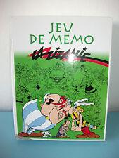 Jeu de Mémo ASTERIX La zizanie jeu de société Complet éditions Atlas
