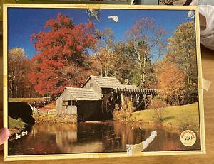 Vintage Waddingtons 750 Piece Jigsaw Blue Ridge Mountains USA