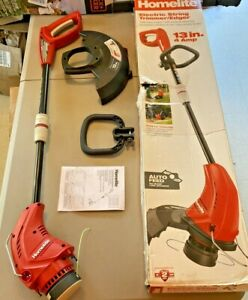 String Trimmer Edger Electric Weed Eater Wacker Straight Line Corded Adjustable