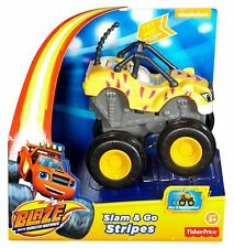 BLAZE AND THE MONSTER MACHINES (STRIPES - SLAM & GO - BRAND NEW + FREE POST)