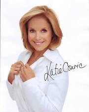 KATIE COURIC Signed Photo w/ Hologram COA