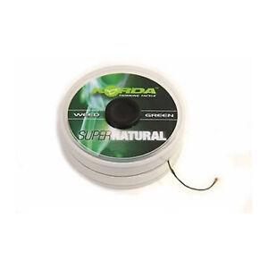 Korda Super Natürlich 11.3kg Schnur Grasgrün/Karpfenangeln
