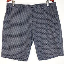 Michael Michael Kors Blue Plaid Shorts Size 36 Men's.