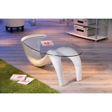 Couchtisch weiß hochglanz Glastisch Wohnzimmertisch Wohnzimmer Tisch Glas modern