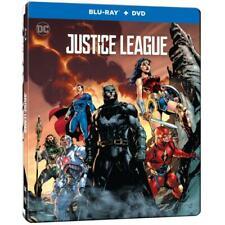 Justice League (Steelbook Edition) [Blu-ray] Bilingual New!