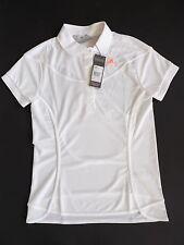 Adidas edles Stella Mc Cartney Tennis W Barricade Polo T-Shirt weiß M   40 a75f8d8292