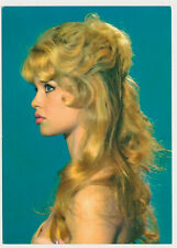 BRIGITTE BARDOT - Vintage Original Old Photo Postcard Color
