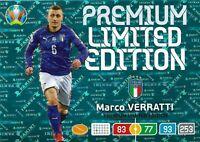 PANINI ADRENALYN XL EURO 2020 MARCO VERATTI PREMIUM LIMITED EDITION