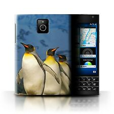 STUFF4 Back Case/Cover/Skin for Blackberry Passport/Arctic Animals