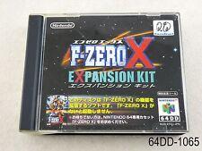 F-Zero X Expansion Kit Nintendo 64DD 64 DD Japanese Import N64 Japan US Seller B