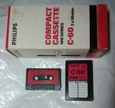 Dictaphone C60 Cassette Tape Bundle New Old Stock Sealed 5 Tape Cube Nos Tapes Music