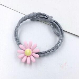Sweet Daisy Flower Elastic Hair Ring Hair Rubber Bands Ponytail Holder Hair Rope