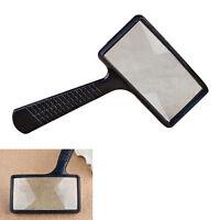 Handheld rechteckige Lupe für Lesen / Schmuck
