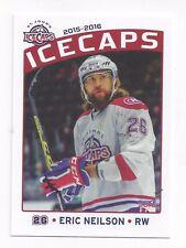 2015-16 St. John's IceCaps (AHL) Eric Neilson (Manchester Storm)