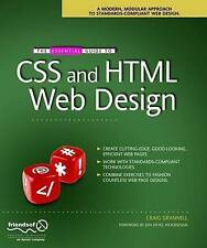 The Essential Guide to CSS and HTML Web Design (Essentials), New Books