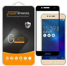Supershieldz ASUS ZenFone 3 MAX Full Cover Tempered Glass Screen Protector Black