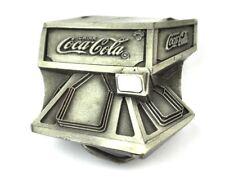 Vintage Coca-Cola Coke USA Gürtelschnalle Cooler Automat Belt Buckle Markatron
