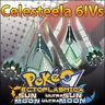 Celesteela 6IV ☀️ Shiny or not 🌙 Battle Ready Pokemon Sun Moon Ultra SM USUM