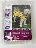 Canine Chiller Dog Pet Cooling Vest Blanket New