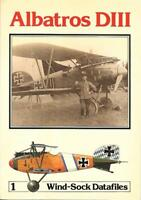 Windsock Datafile N1 Albatros DIII German WWI Fighter Great War