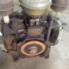 Vintage Two Cylinder Gas Engine Motor From Welder