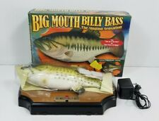 Vintage 1998 Big Mouth Billy Bass The Singing Fish #4 Tested Works w/ Defects