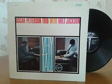 Oscar Peterson Trio With Milt Jackson,Verve V6 8429,1962,Vinyl Jazz LP,Rare
