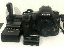 Canon 5D Mark III w/ Battery Pack + Charger (Body Only)